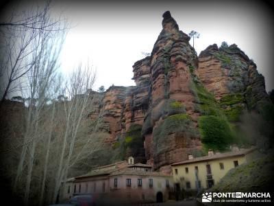 Hoces y cañones del Río Piedra y del Río Gallo -- Laguna Gallocanta - trekking y aventura;hacer t